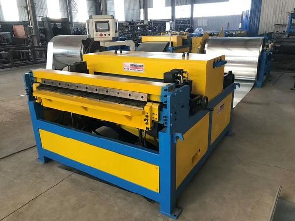 Duct Line 3 + Plasma cutting machine 4515 +Angle iron flange forming