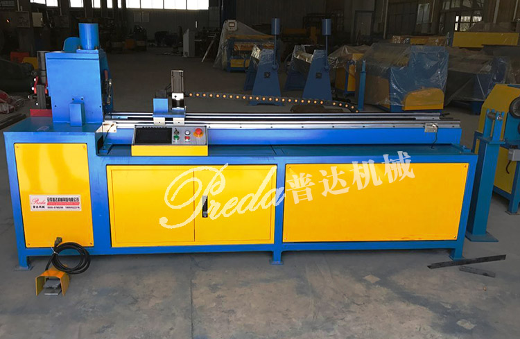 H Iron Manufacturers Mail: Automatic Angle Iron Flange Line